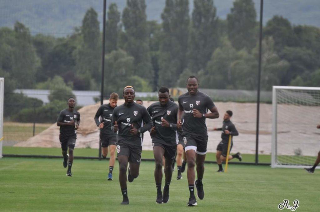 Entraînement FC Metz